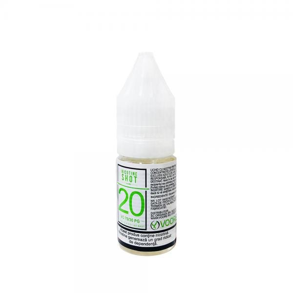 Nicotine Shot 10ml - 20mg/ml - 70VG/30PG