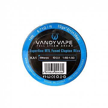 Rola Superfine MTL Fused Clapton KA1 32Ga*2+38Ga Vandy Vape