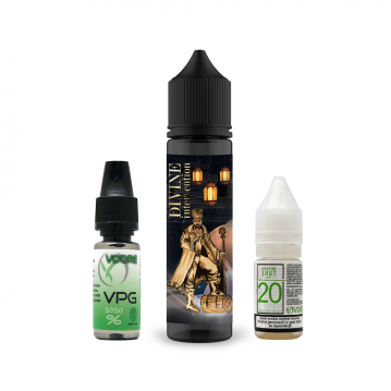 Pachet Lichid Flavor Madness Divine Intervention 40ml + 1 Nicotine Shot 10ml - 20mg/ml - 50VG/50PG +...