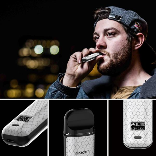 Kit Smok Novo X - Black Stabilizing Wood