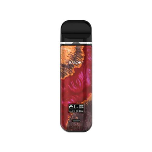 Kit Smok Novo X - Red Stabilizing Wood