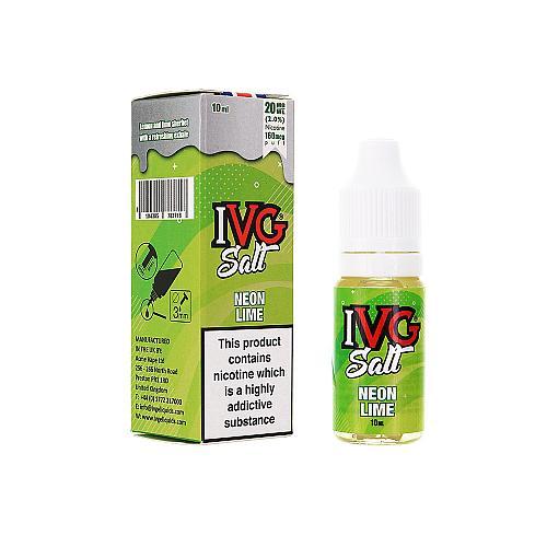 Lichid IVG Salt - Neon Lime 10ml 20mg