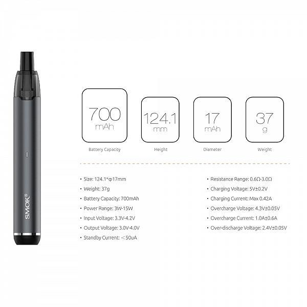 Kit Smok Stick G15 - Black