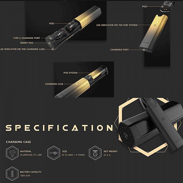 Kit Tripod PCC - Uwell -Metallic Green