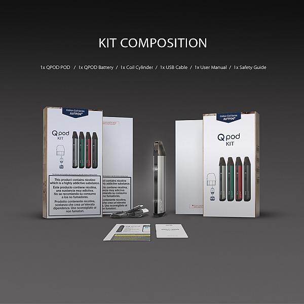 Kit JustFog QPod - Black