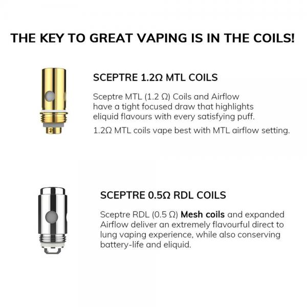 Kit Sceptre - Innokin - White