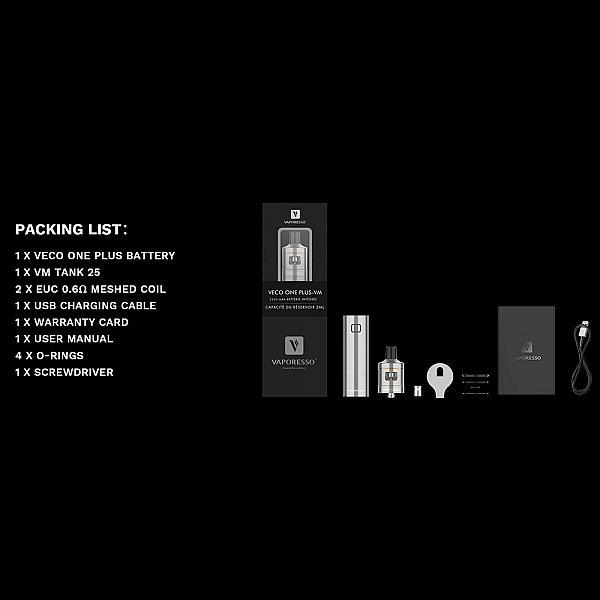 Kit Veco One Plus VM25 - Vaporesso - Black