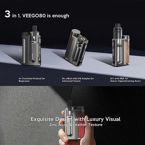 Kit Nevoks Veego80 - Space Silver