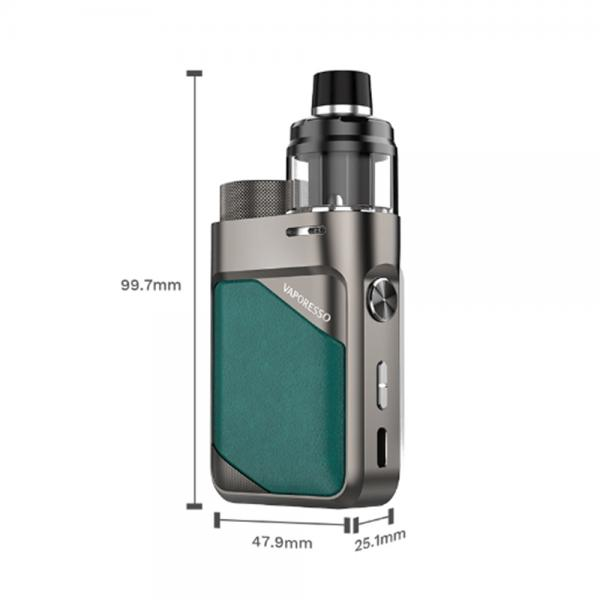 Kit Swag PX80 Vaporesso - Leather Brown