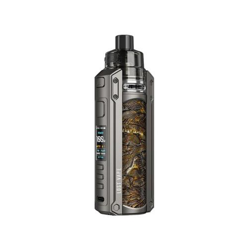 Kit Ursa Quest Multi - Lost Vape - Gunmetal Ukiran Leather