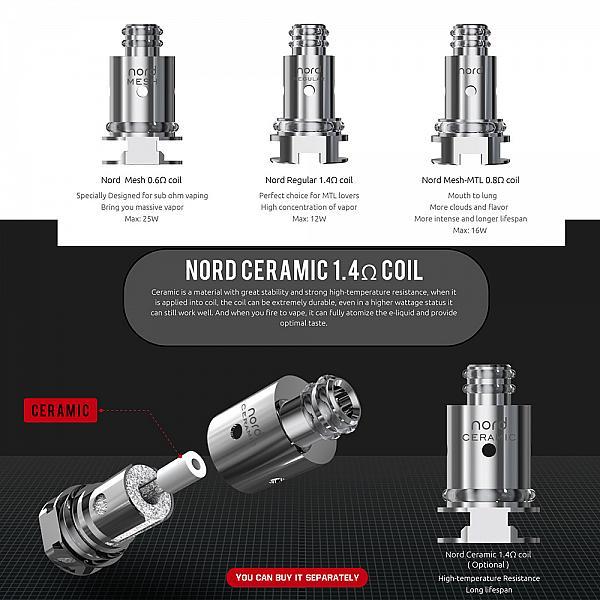 Kit Smok Vape Pen Nord 22 - 7 Color