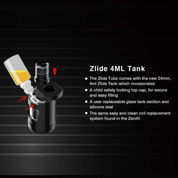Kit Zlide Tube Innokin - Black