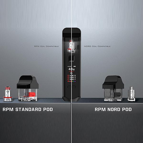 Kit Smok RPM 40 - White