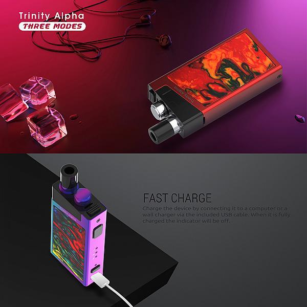 Kit Smok Trinity Alpha - Prism Chrome