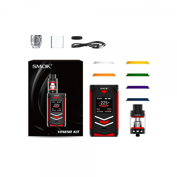 Kit Veneno Smok - Black Red
