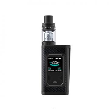 Kit Majesty Smok - Black Carbon Fiber and Black