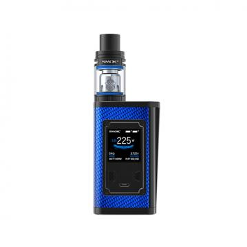 Kit Majesty Smok - Blue Carbon Fiber and...
