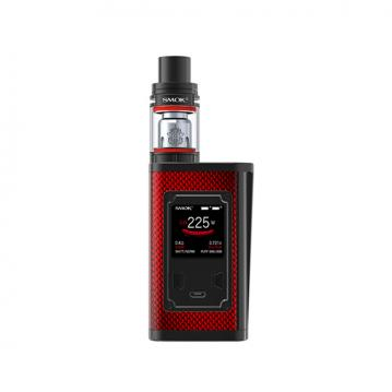 Kit Majesty Smok - Red Carbon Fiber and ...