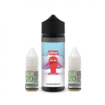 Pachet Lichid Flavor Madness Bloody Thorns 100 ml + 2 Nicotine Shot 10ml - 20mg/ml - 70VG/30PG