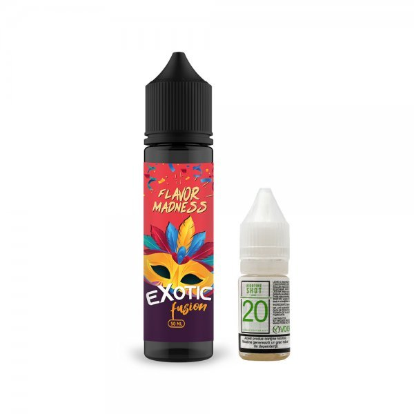 Pachet Lichid Flavor Madness Exotic Fusi...