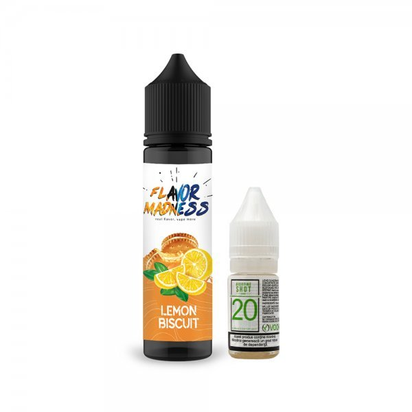 Pachet Lichid Flavor Madness Lemon Biscu...