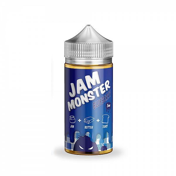 Lichid Jam Monster Blueberry 00mg 100ml