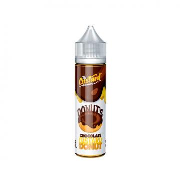 Lichid The Custard Company Chocolate Custard Donut 50ml