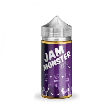 Lichid Jam Monster Grape 00mg 100ml