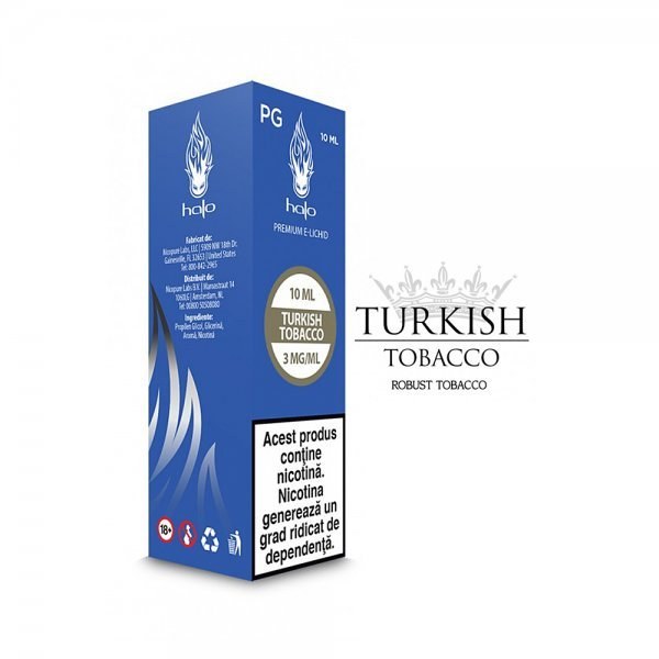Lichid Halo Turkish Tobacco PG 10ml