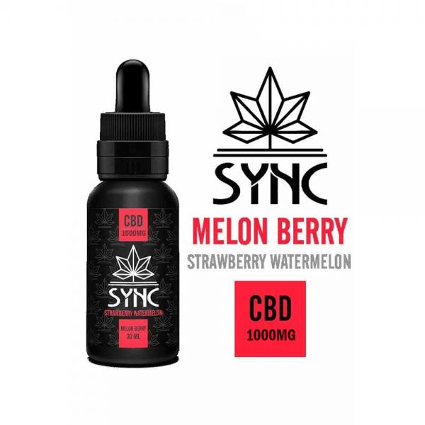 Lichid Sync Melon Berry CBD 1000mg 30ml