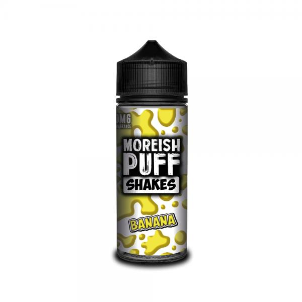Lichid Moreish Puff Shakes Banana 100ml