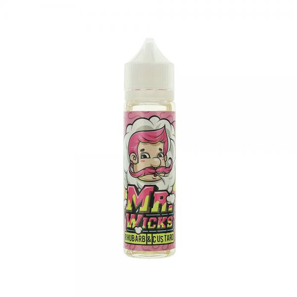 Lichid Mr Wicks Rhubarb Custard 50ml