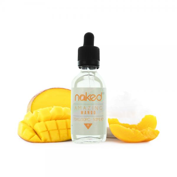 Lichid Amazing Mango by Naked 50ml 0mg