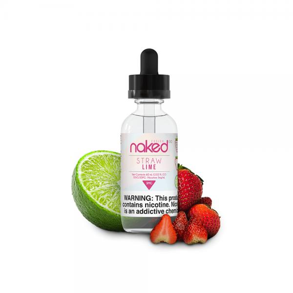 Lichid Straw Lime by Naked 50ml 0mg