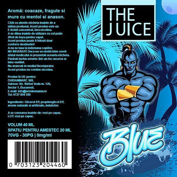 Lichid Blue The Juice 40ml