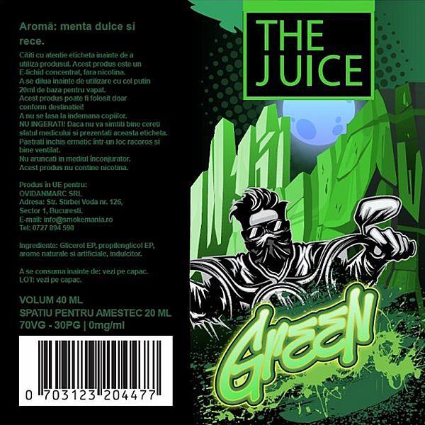 Lichid Green The Juice 40ml