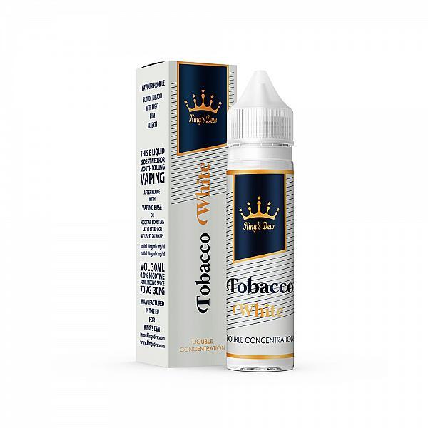 Lichid King's Dew Tobacco White 30ml