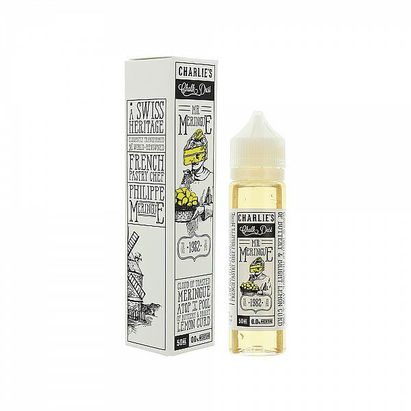 Lichid Charlies Chalk Dust Mr Meringue 50ml
