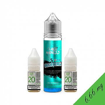 Pachet Lichid Flavor Madness Blueberg 40ml + 2 Nicotine Shot 10ml - 20mg/ml - 70VG/30PG
