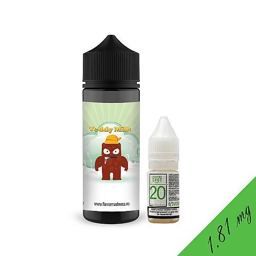 Pachet Lichid Flavor Madness Teddy Milk 100ml + 1 Nicotine Shot 10ml - 20mg/ml - 70VG/30PG