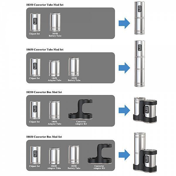 Full Kit Converter - Ambition Mods - SS/Black
