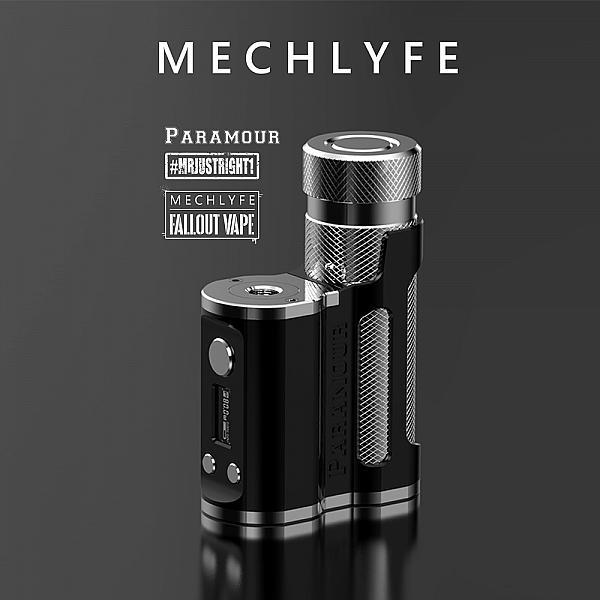 Mod Paramour SBS - Mechlyfe x Fallout Vape x MrJustRight1 - Black Silver