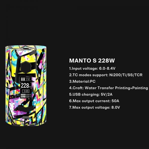 Mod Rincoe Manto S 228W - Red