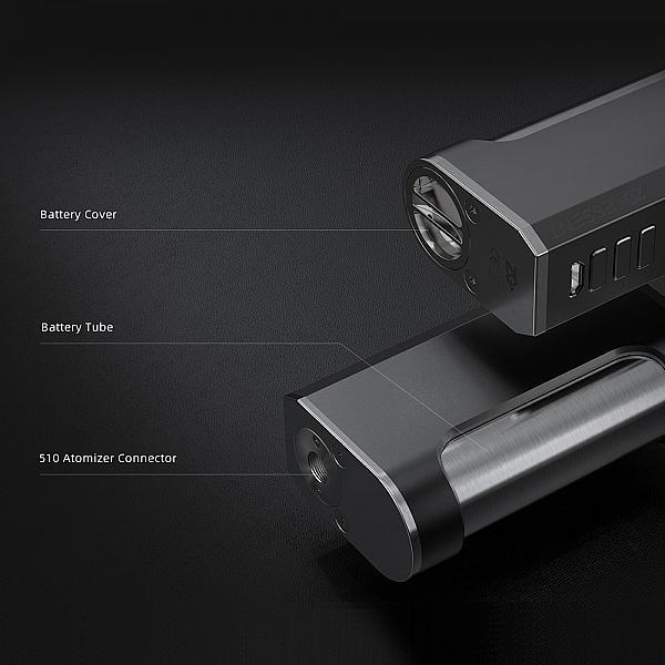 Mod ZQ Essent DNA75C - Full Black DLC