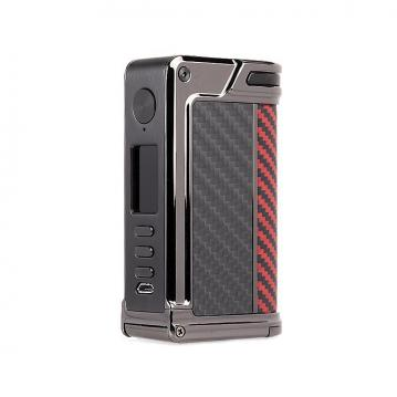 Mod Lost Vape Paranormal DNA 250C - Gun Metal Red Black Kevlar