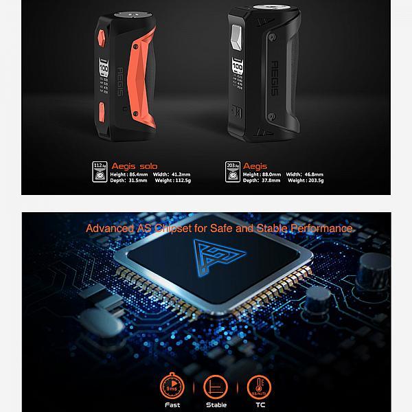 Mod Aegis Solo 100W Geekvape - Orange