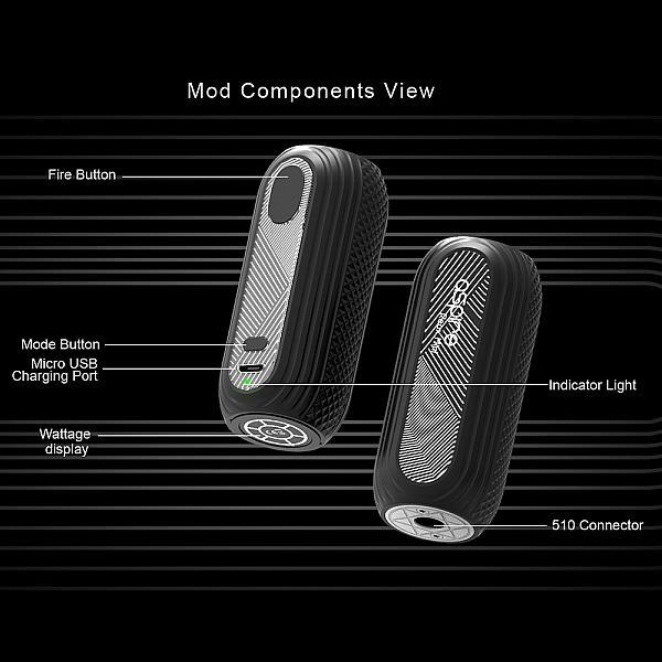 Mod Aspire Reax Mini - Silver