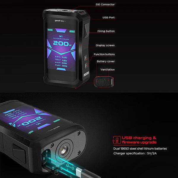 Mod Aegis X Geekvape - Clasic Silver