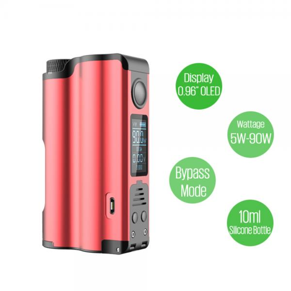 Mod Topside Squonk Dovpo - Silver