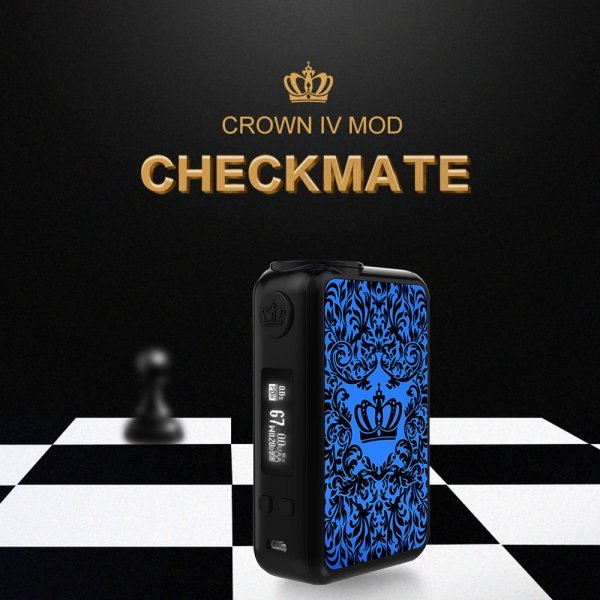 Mod Uwell Crown IV 200W - Silver